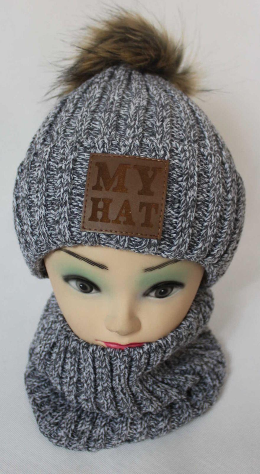 čepice a šála, čepice s bambulí, šála, zimní čepice, zateplená čepice, nákrčník
