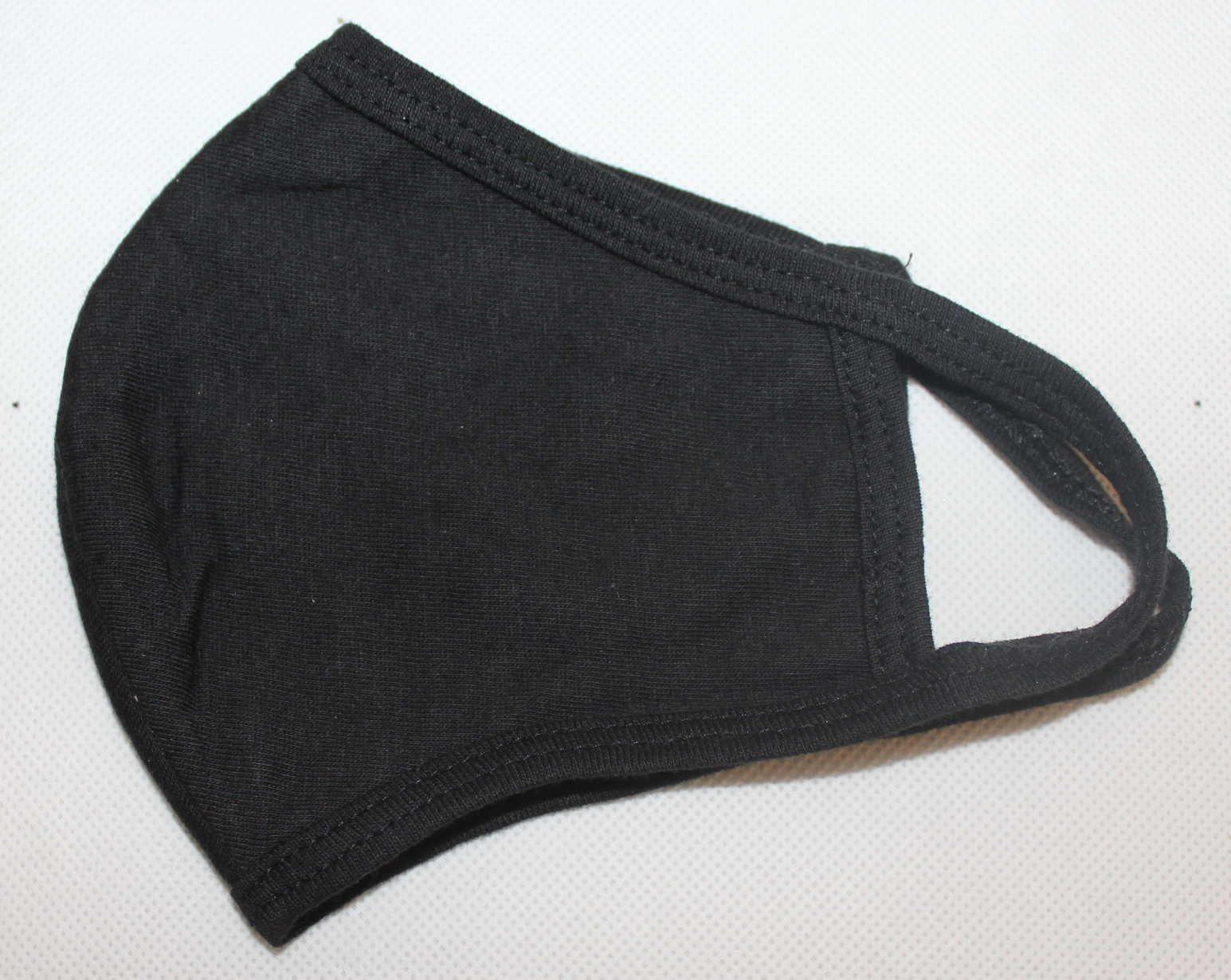 černá rouška, bavlněná rouška, dětská černá rouška, dámská černá rouška