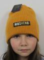Uni čepice pro děti i dospělé - Mosheno hořčicová