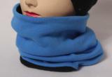 Nákrčník vyteplený fleesem - sv. modrý