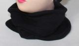 Nákrčník vyteplený fleesem - černý