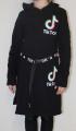 TIK TOK šaty bavlněné - černé