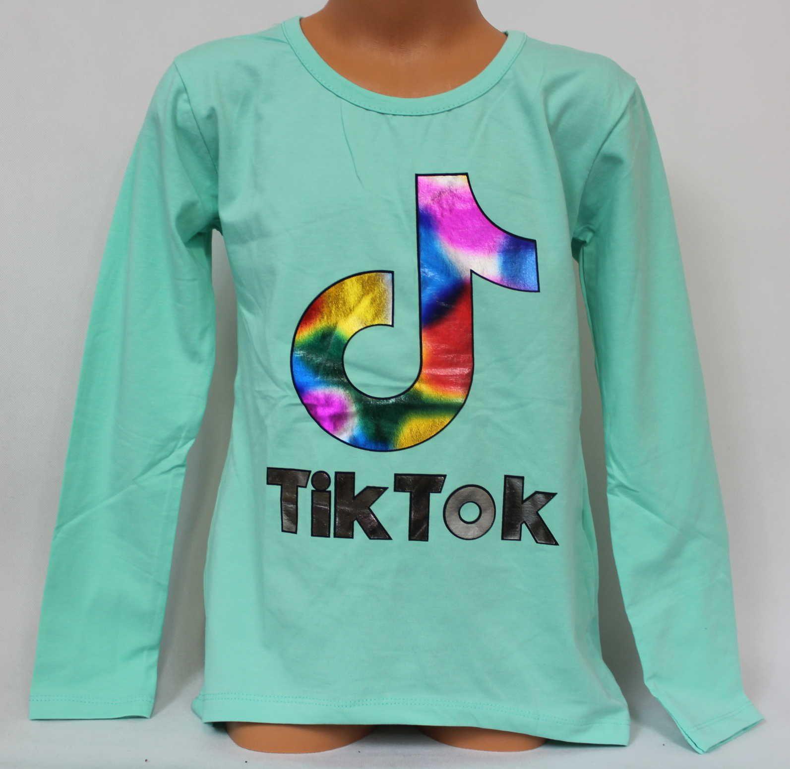 Tik Tok tričko, triko dlouhý rukáv Tik Tok, bavlněné tričko Tik Tok, dívčí tričko TIK TOK