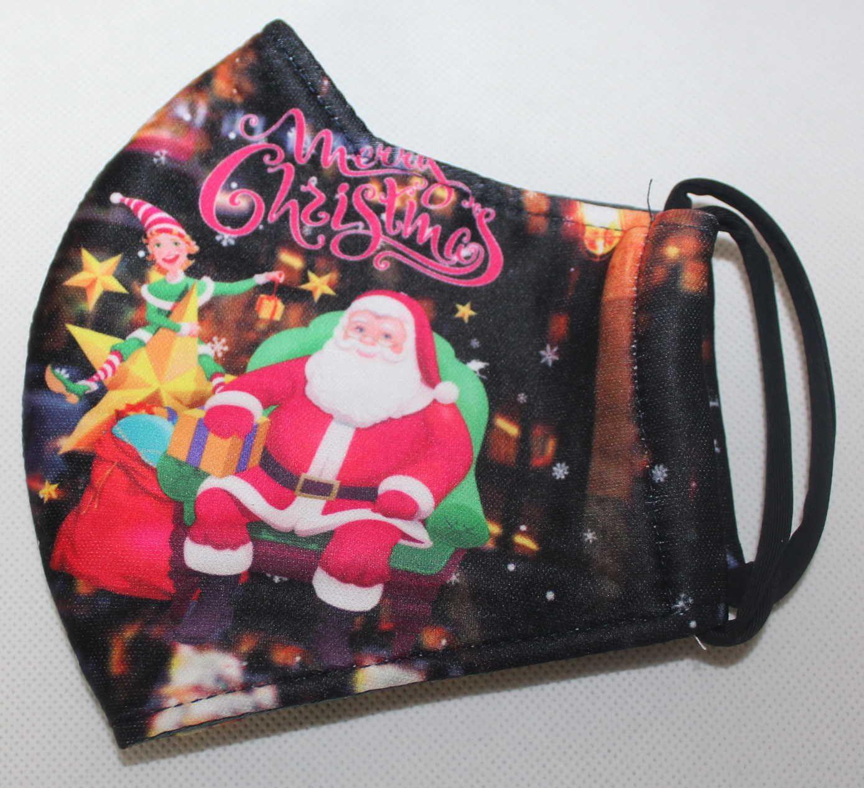 vánoční rouška, bavlněná rouška, dětská černá rouška, dámská černá rouška, dámská rouška