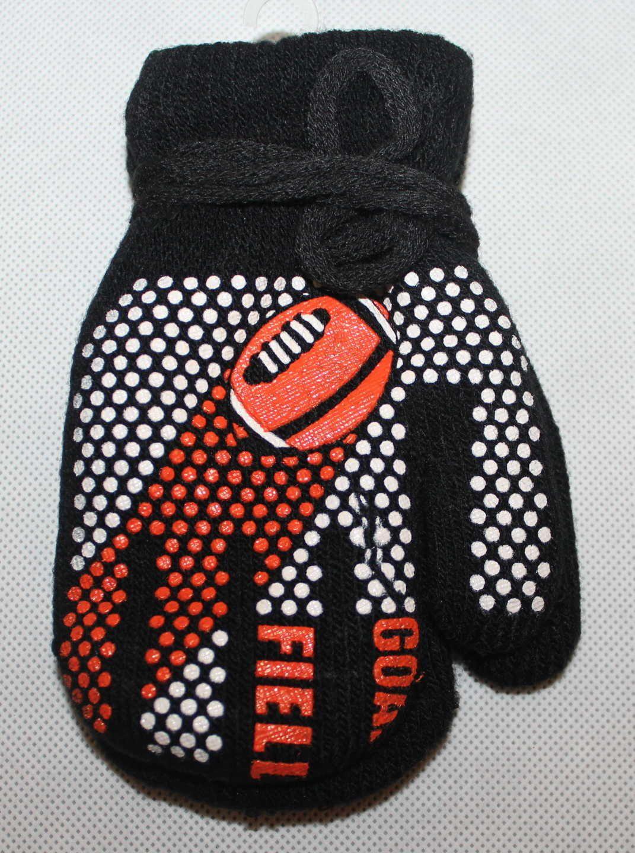 Dětské rukavice, dětské palčáky se šňůrkou, slabé rukavice, chlapecké palčáky s mašinkou Thomas, pletené rukavice palčáky, dětské rukavice na šňůrku