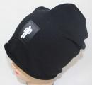 Bavlněná čepice se spadlým vrškem BILLIE EILISH - černá