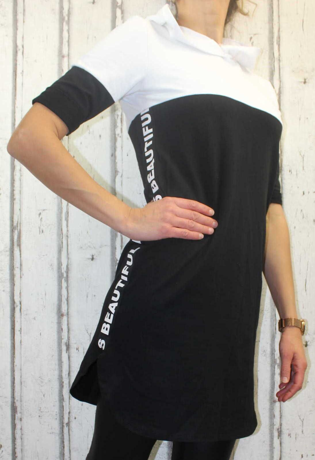 Dámské teplákové šaty, bavlněné sportovní šaty, dlouhá mikina, mikinové šaty, dámské šaty s kapucí Italy Moda