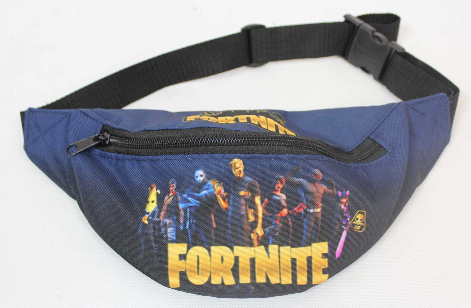 dětská ledvinka Fortnite chlapecká ledvinka Fortnite, doplňky Fortnite, oblečení Fortnite, černá ledvinka