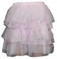 Tylová sukně - růžová