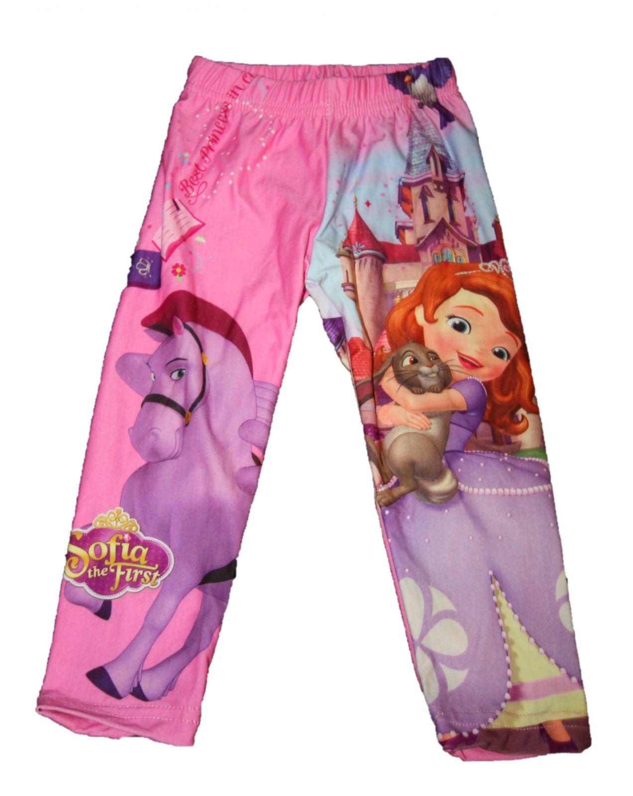 dětské legíny Sofia, dívčí legíny s princeznou Sofií, dětské oblečení Sofia Disney