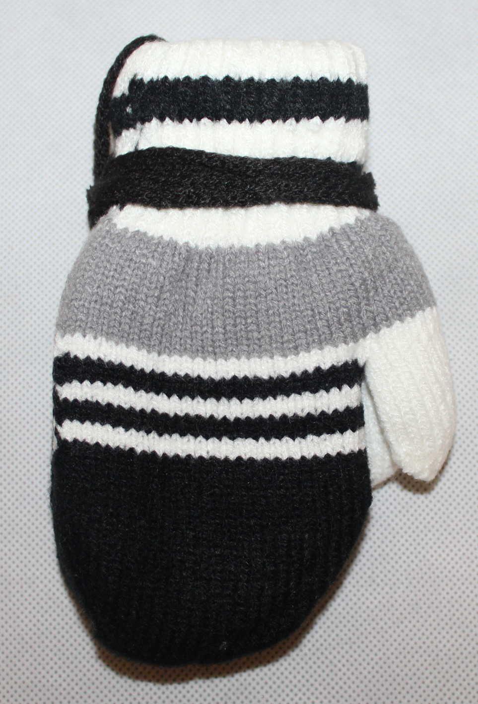 Dětské rukavice, dětské palčáky se šňůrkou, slabé rukavice, pletené rukavice palčáky, dětské rukavice na šňůrku