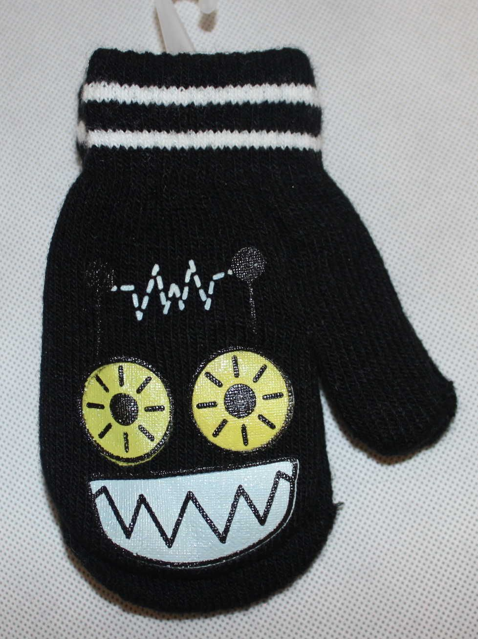 Dětské rukavice dětské palčáky slabé rukavice, chlapecké palčáky, dívčí palčáky, pletené rukavice palčáky