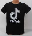 TIK TOK dětské tričko kr.rukáv - černé