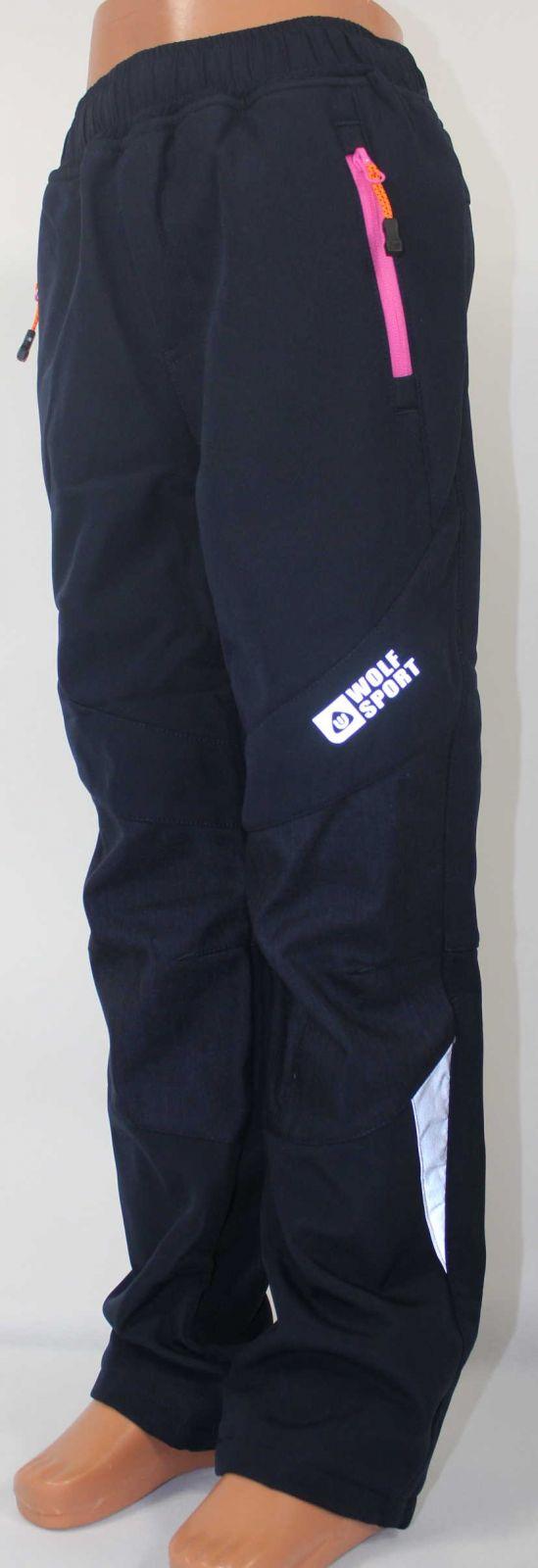 Dětské zateplené softshellové kalhoty WOLF, podzimní kalhoty, zimní kalhoty, zateplené kalhoty, dětské softshellové kalhoty, dívčí softshellové kalhoty