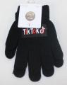TIK TOK dětské prstové rukavice - černé