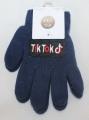 TIK TOK dětské prstové rukavice - modré