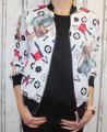 dámská letní bunda, lehká bundička, slabá bunda, jarní bunda, dámská lehká bunda, dámská slabá bundička, bílá letní bunda