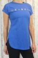 Dámské dlouhé tričko weekend - modré