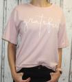 Dámské dlouhé tričko krátký rukáv, dámské bavlněné triko, pohodlné dámské tričko Italy Moda