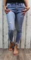 Pružné džíny Skiny - modré - velké