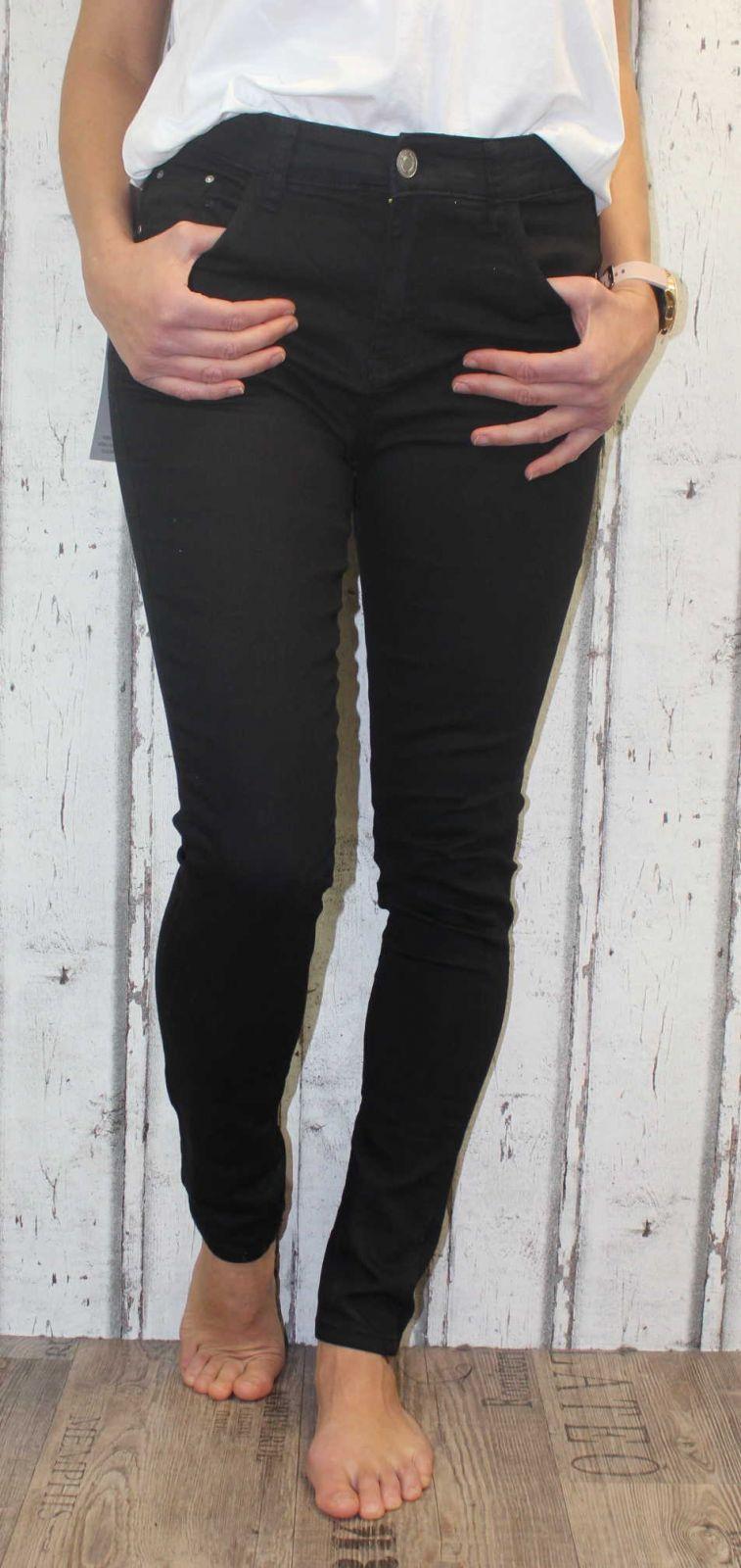 dámské elastické džíny, džíny slimky, dívčí slimky, dívčí elastické džíny, černé džíny, džíny s vysokým pasem, dámské oblečení, dámské kalhoty, dívčí džíny Denim