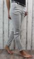 dámské společenské dámské elastické kalhoty kalhoty s páskem dámské kalhoty dámské elegantní kalhoty dámská pohodlné kalhoty | XL, XXL