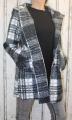 Dámský fleesový kabát, dámský kabátek, jarní kabát, podzimní kabát, dámský oversized kabát