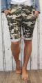 Dámské maskáčové kraťasy, dámské baggy, maskáčové kraťasy Italy Moda
