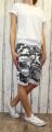 Dámské maskáčové kraťasy - šedo-bílé UNI - menší- XS - L