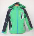 Jarní softshellová bunda Kugo - zelená