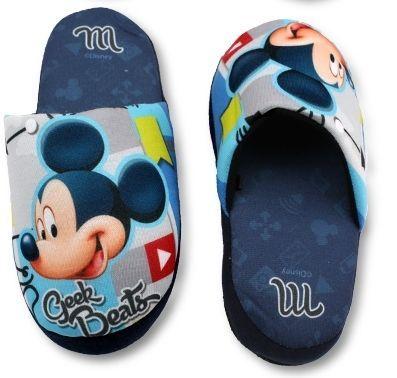Bačkory, pantofle - MICKEY MOUSE - modré Disney