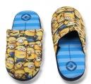 Bačkory, pantofle - MIMONI - modro-žluté