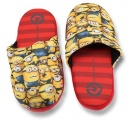 Bačkory, pantofle - MIMONI - červeno-žluté