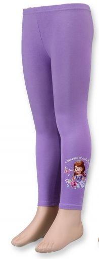 Bavlněné legíny SOFIA - fialové Disney