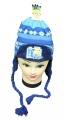 Čepice - ušanka - MINION-MIMOŇ - tm.modrá
