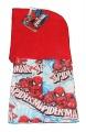 Dětská kukla s fleesem SPIDERMAN- červená Marvel