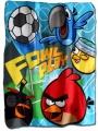 Fleesová deka - ANGRY BIRDS