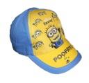 Kšiltovka Mimoň - modro-žlutá 1