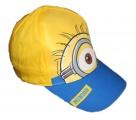 Kšiltovka Mimoň - žluto-modrá