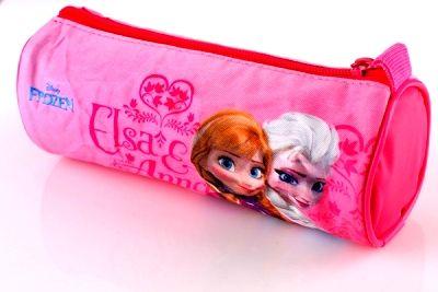 Kulaté pouzdro, penál na tužky - FROZEN Disney