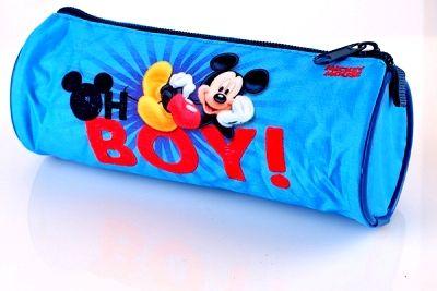 Kulaté pouzdro, penál na tužky - MICKEY MOUSE Disney