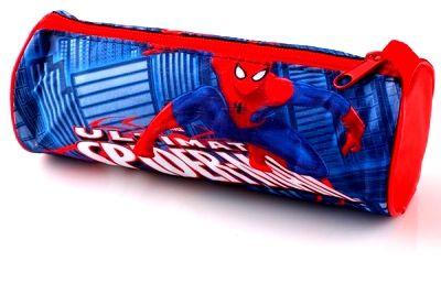 Kulaté pouzdro, penál na tužky - SPIDERMAN Marvel
