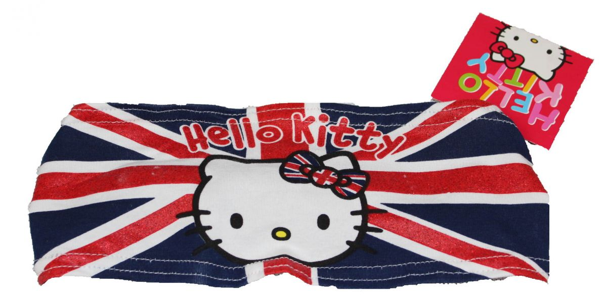 Látková čelenka do vlasů Hello Kitty Sanrio