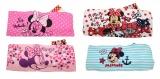 LÁTKOVÁ ČELENKA DO VLASTŮ - MINNIE- růžová s puntíky Disney