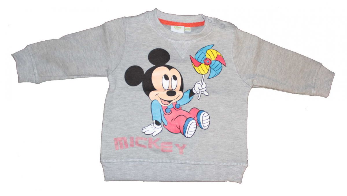 Mikina MICKEY MOUSE - šedá Disney