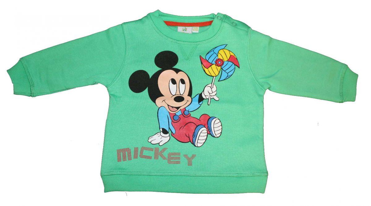 Mikina MICKEY MOUSE - zelená Disney