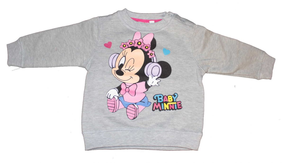 Mikina MINNIE - šedá Disney