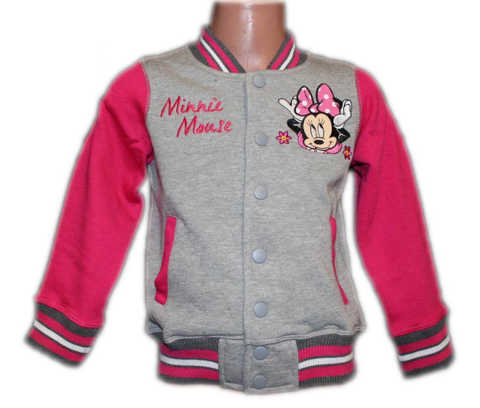 Mikina MINNIE - šedo-růžová Disney