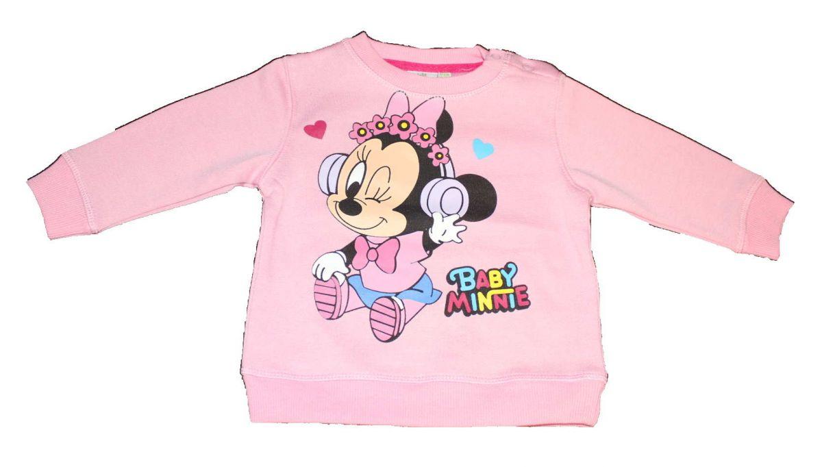 Mikina MINNIE - sv.růžová Disney
