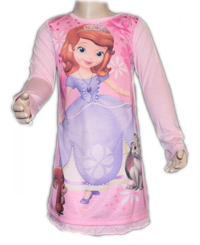 NOČNÍ KOŠILE - SOFIA - růžová Disney
